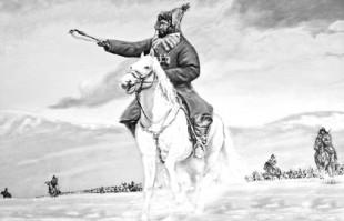 Оспан батыр Монгол деректерінде