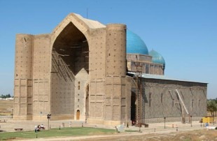 Сыры мол Ахмет Яссауи кесенесі