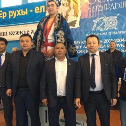 Оспан батыр 120 жыл: Қазақ күресінен республикалық турнир өтті