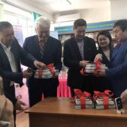 Баяхмет Жұмабайұлының этнографиялық 7 кітабының тұсауы кесілді