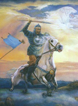 Талапбек Азанбай: Аққаптал (Тарихи дастан)