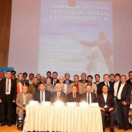 Оспан батыр 120 жыл: Стамбулда Оспан батырға арналған халықаралық конференция өтті